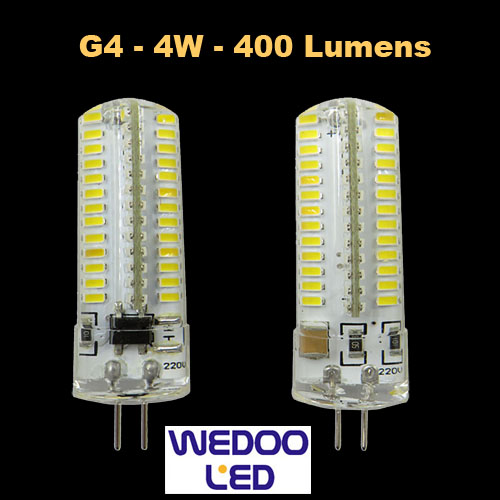 ampoule wedoo led G4 BTFAMPG4L4
