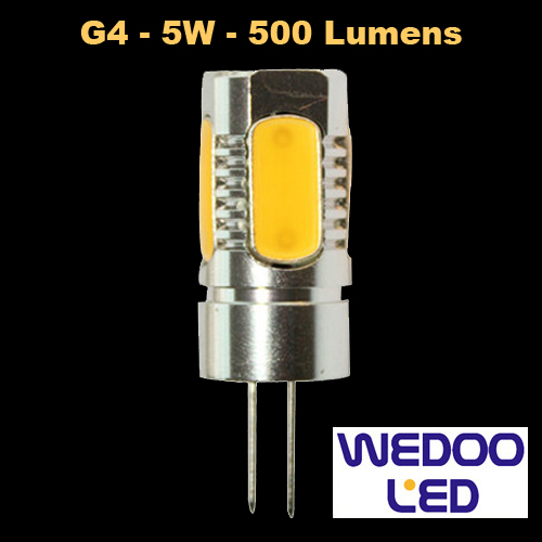 ampoule wedoo led G4 BTFAMPG4L5