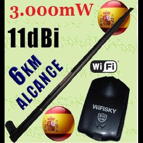 antenne Wifi 10 et 11 dB