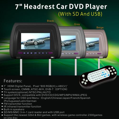 appui tete auto multimedia CARH930