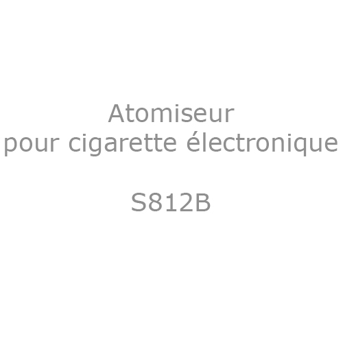 atomiseur S812B