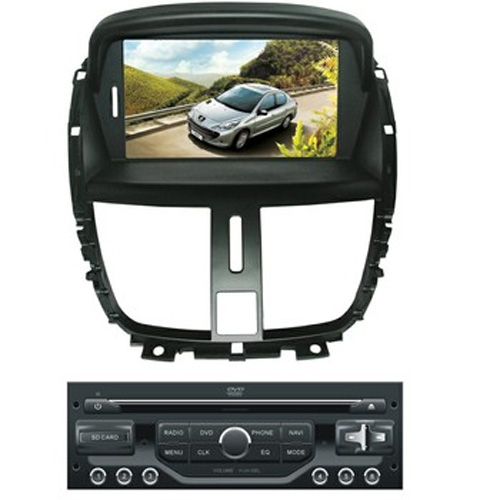 autoradio video GPS peugeot 207