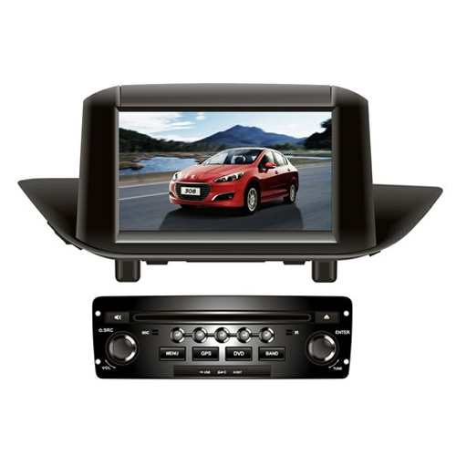 autoradio video GPS peugeot 308