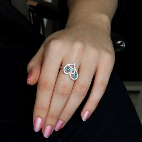 bague femme argent diamant 8100747 pic5
