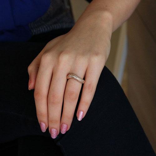 bague femme argent diamant 8101111 pic5