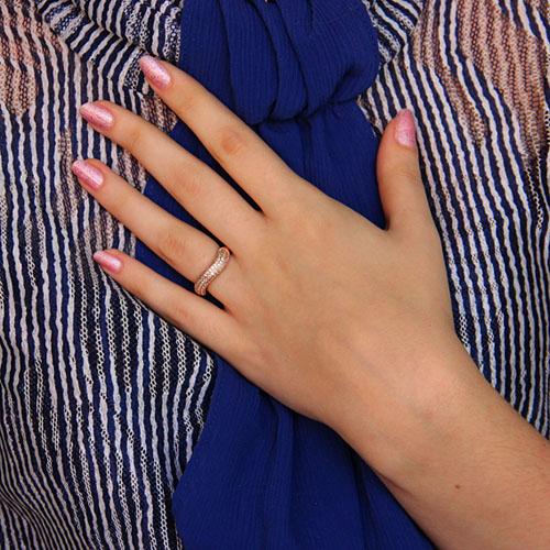 bague femme argent diamant 8101111 pic6