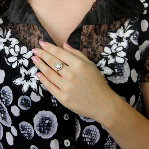 bague femme argent perle 8100960 pic6