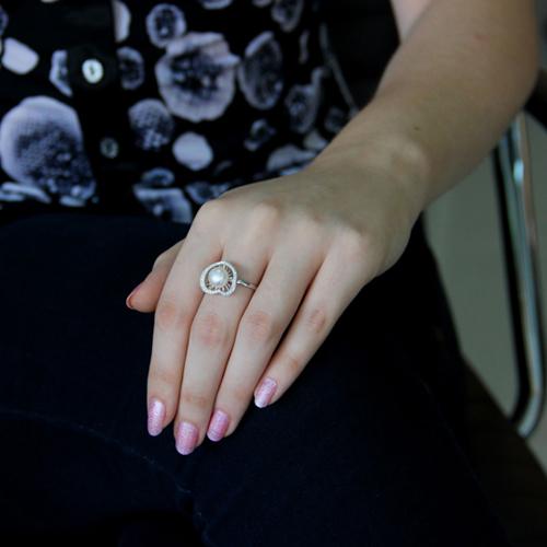 bague femme argent perle 8100965 pic5