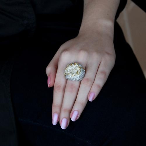 bague femme argent zirconium 8100420 pic5