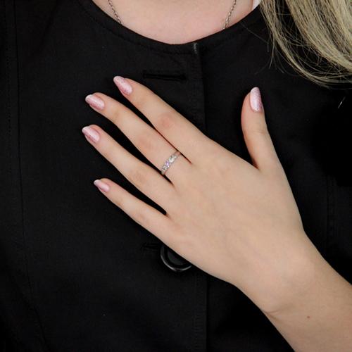 bague femme argent zirconium 8100431 pic6