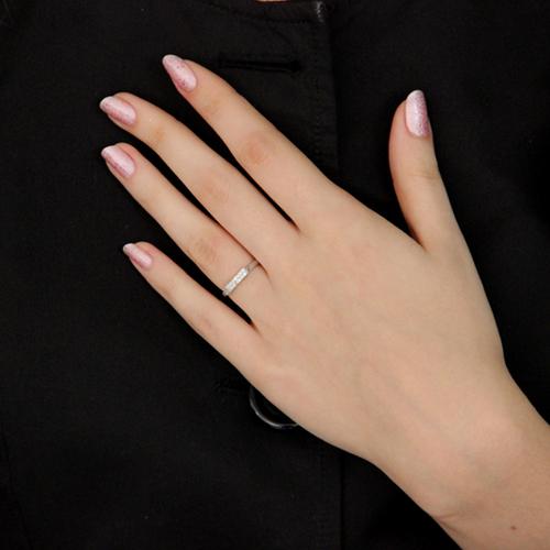 bague femme argent zirconium 8100439 pic6