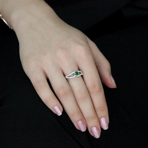 bague femme argent zirconium 8100487 pic5