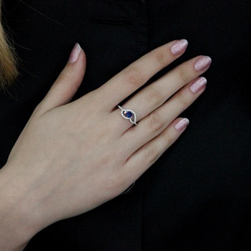 bague femme argent zirconium 8100523 pic6