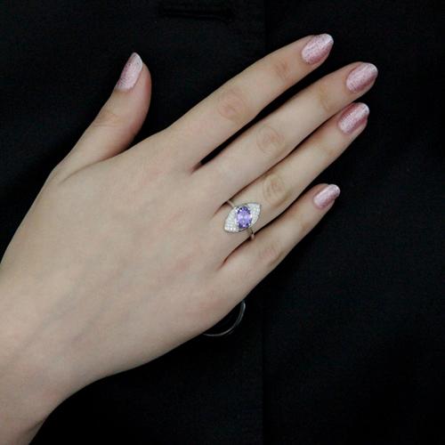 bague femme argent zirconium 8100527 pic6