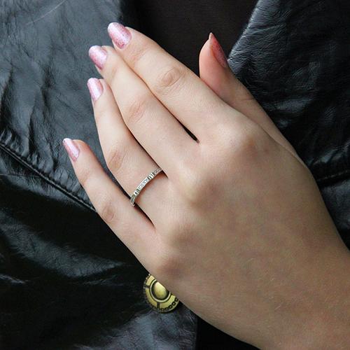 bague femme argent zirconium 8100628 pic5