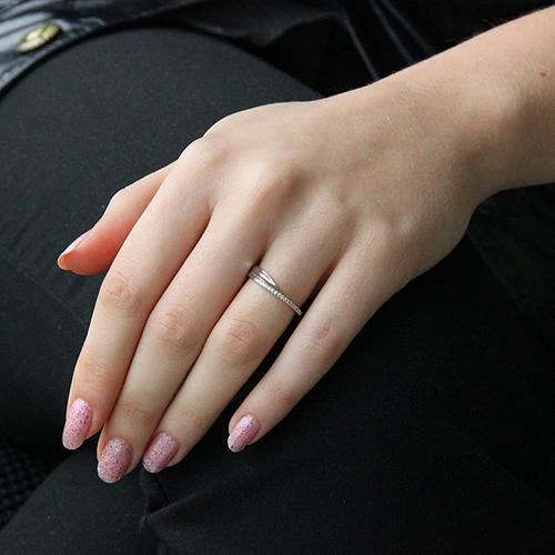 bague femme argent zirconium 8100630 pic6