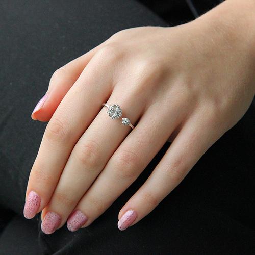bague femme argent zirconium 8100656 pic6