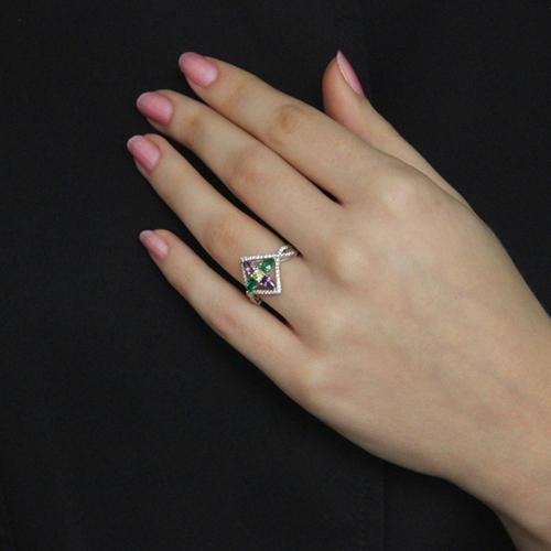 bague femme argent zirconium 8100735 pic6