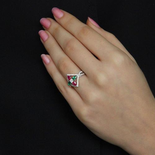 bague femme argent zirconium 8100736 pic6