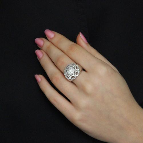 bague femme argent zirconium 8100743 pic6