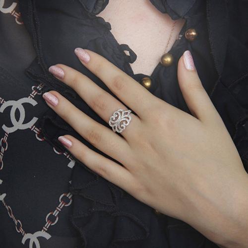 bague femme argent zirconium 8100819 pic6