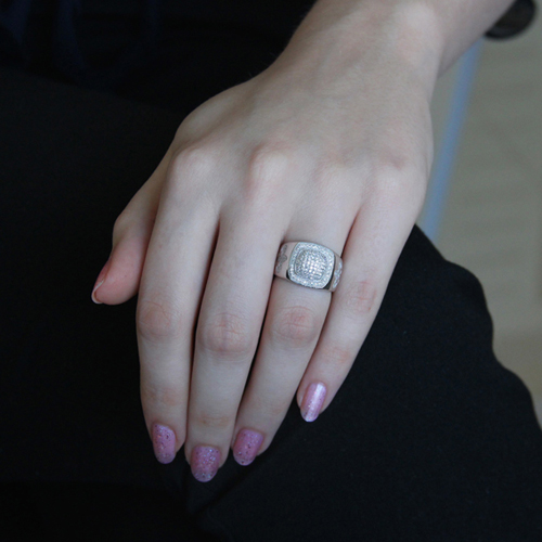 bague femme argent zirconium 8100829 pic5