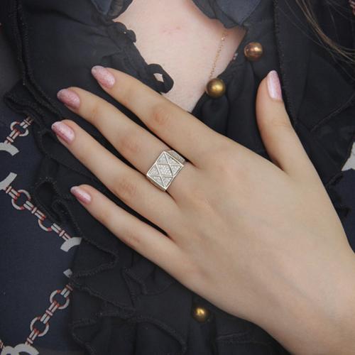 bague femme argent zirconium 8100833 pic6