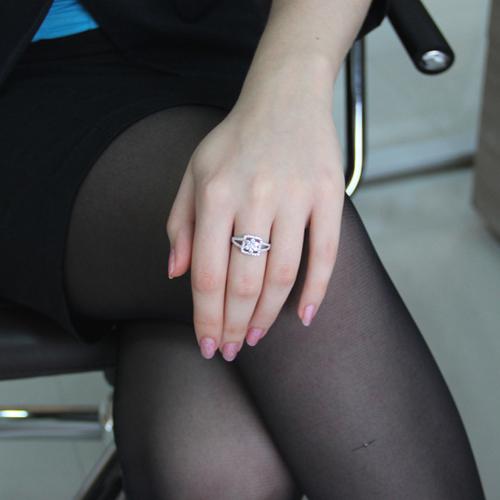 bague femme argent zirconium 8100840 pic5