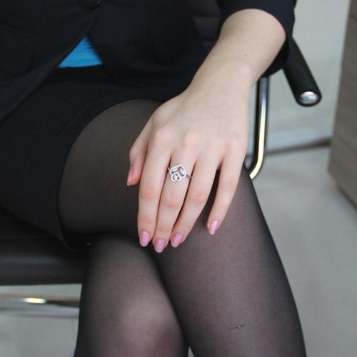 bague femme argent zirconium 8100841 pic5