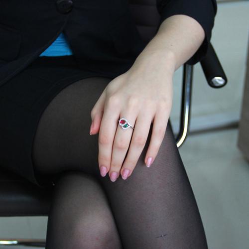 bague femme argent zirconium 8100842 pic5