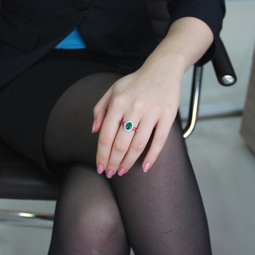 bague femme argent zirconium 8100843 pic5