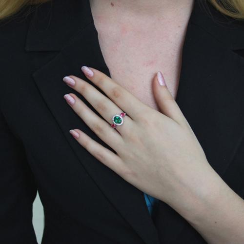 bague femme argent zirconium 8100843 pic6