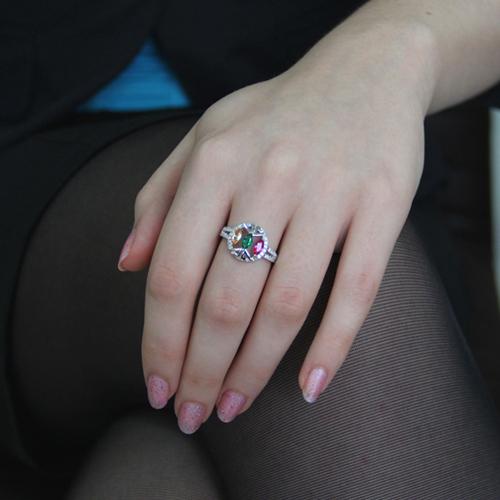 bague femme argent zirconium 8100844 pic5
