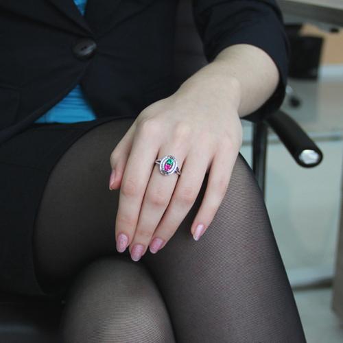 bague femme argent zirconium 8100845 pic5