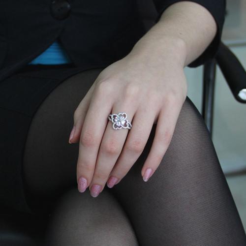 bague femme argent zirconium 8100851 pic5