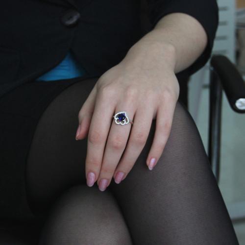 bague femme argent zirconium 8100858 pic5