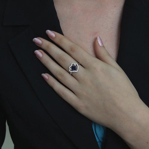 bague femme argent zirconium 8100858 pic6