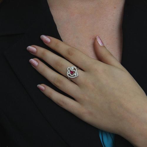 bague femme argent zirconium 8100859 pic6