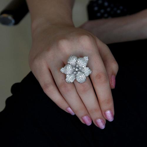 bague femme argent zirconium 8100870 pic5