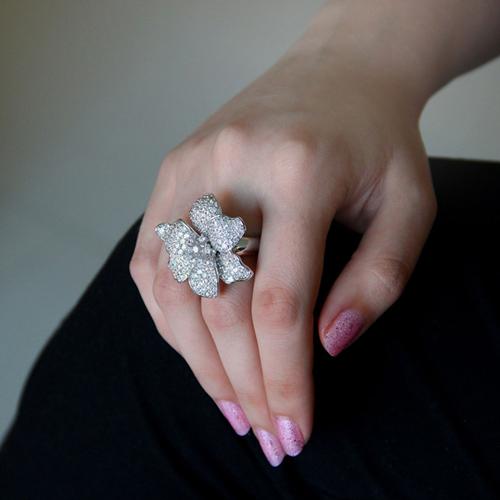 bague femme argent zirconium 8100870 pic6