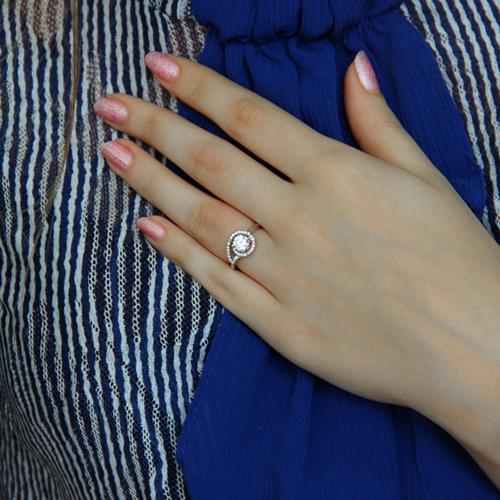 bague femme argent zirconium 8100905 pic6