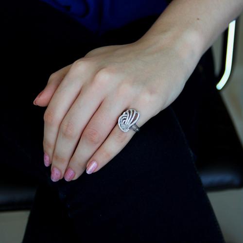 bague femme argent zirconium 8100909 pic5