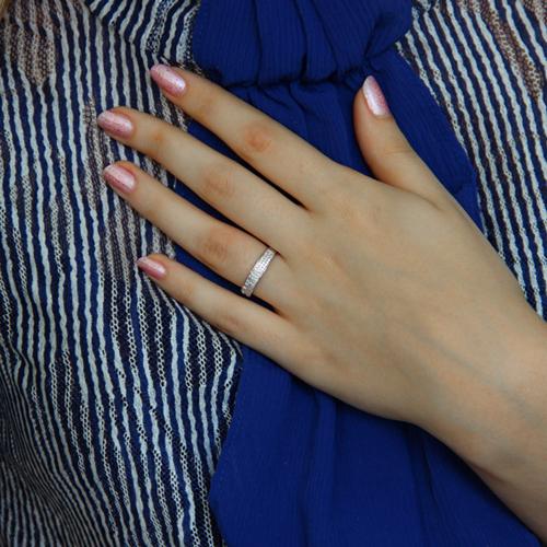 bague femme argent zirconium 8100936 pic6