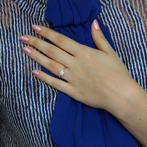 bague femme argent zirconium 8100938 pic6