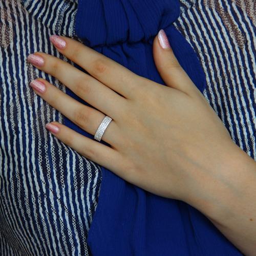bague femme argent zirconium 8100945 pic6