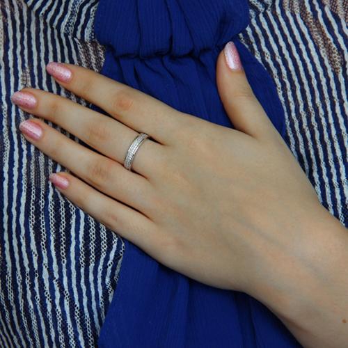 bague femme argent zirconium 8100949 pic6