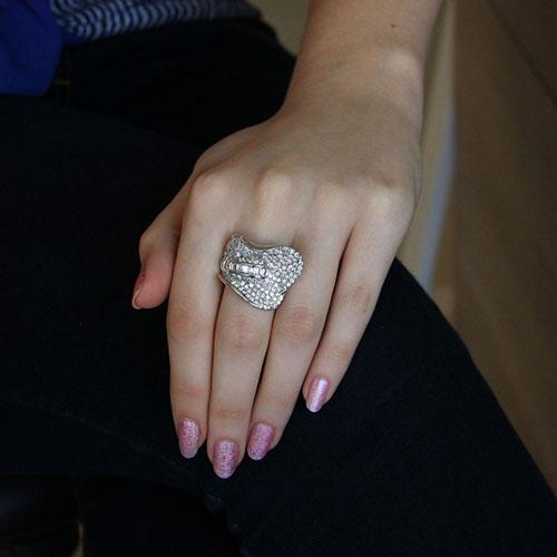 bague femme argent zirconium 8101095 pic5