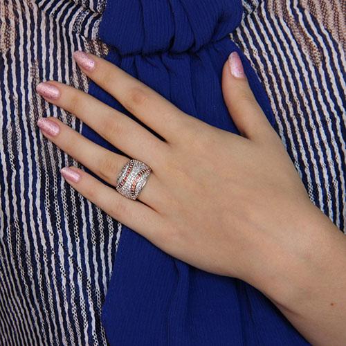 bague femme argent zirconium 8101127 pic6