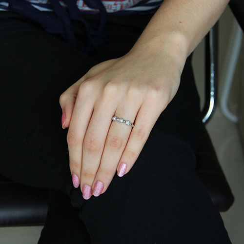 bague femme argent zirconium 8101150 pic5