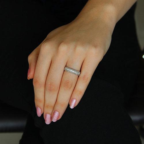 bague femme argent zirconium 8101152 pic5
